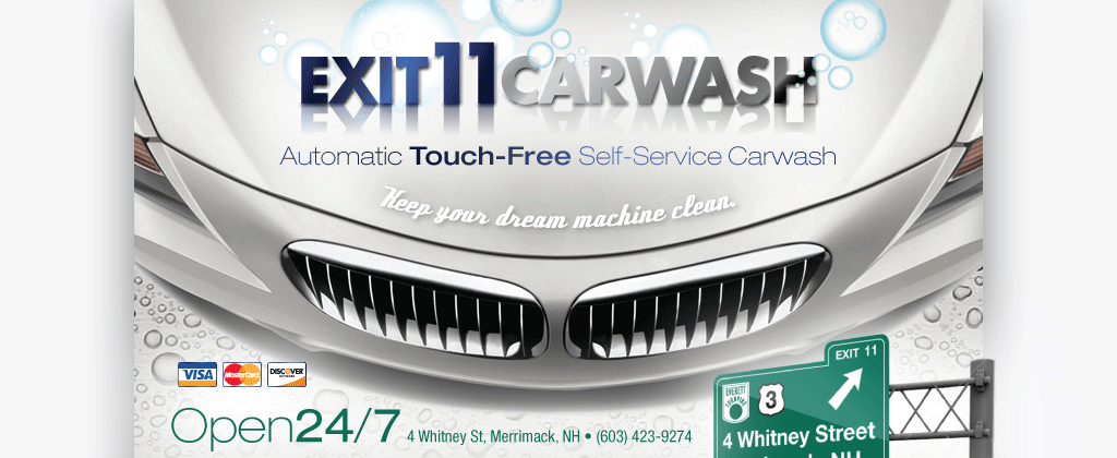 Exit 11 Carwash 4 Whitney Street Marrimack Nh Automatic Touch